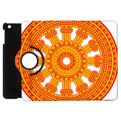 Dharmacakra Apple Ipad Mini Flip 360 Case by abbeyz71