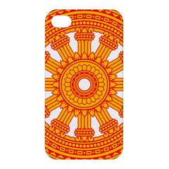 Dharmacakra Apple Iphone 4/4s Premium Hardshell Case by abbeyz71