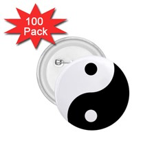 Yin & Yang 1 75  Buttons (100 Pack)  by abbeyz71