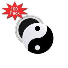 Yin & Yang 1 75  Magnets (100 Pack)  by abbeyz71