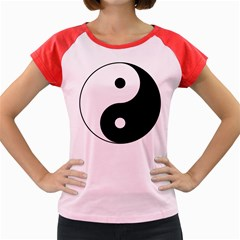 Yin & Yang Women s Cap Sleeve T-shirt by abbeyz71