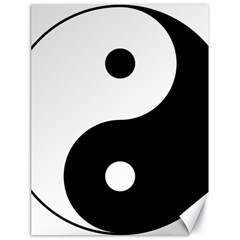 Yin & Yang Canvas 18  X 24   by abbeyz71