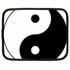 Yin & Yang Netbook Case (xxl)  by abbeyz71