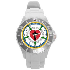 Luther Rose  Round Plastic Sport Watch (l) by abbeyz71