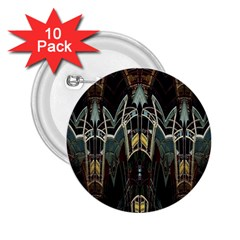 Urban Industrial Rust Grunge 2.25  Buttons (10 pack)