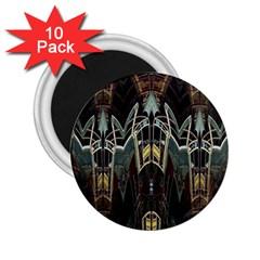 Urban Industrial Rust Grunge 2.25  Magnets (10 pack)