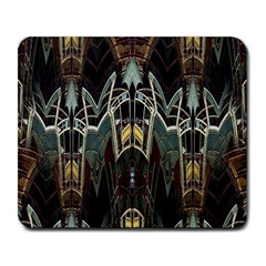 Urban Industrial Rust Grunge Large Mousepads