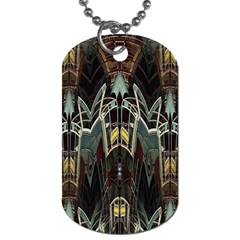 Urban Industrial Rust Grunge Dog Tag (Two Sides)
