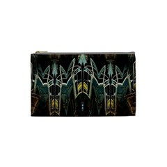 Urban Industrial Rust Grunge Cosmetic Bag (Small)