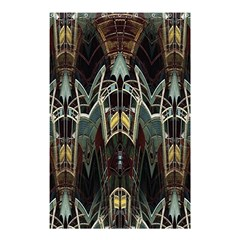 Urban Industrial Rust Grunge Shower Curtain 48  X 72  (small)  by CrypticFragmentsDesign