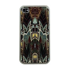 Urban Industrial Rust Grunge Apple iPhone 4 Case (Clear)
