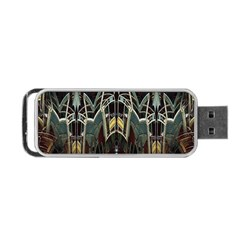 Urban Industrial Rust Grunge Portable USB Flash (Two Sides)