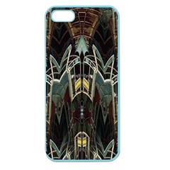 Urban Industrial Rust Grunge Apple Seamless Iphone 5 Case (color) by CrypticFragmentsDesign