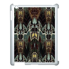Urban Industrial Rust Grunge Apple Ipad 3/4 Case (white) by CrypticFragmentsDesign