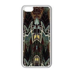 Urban Industrial Rust Grunge Apple iPhone 5C Seamless Case (White)