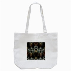 Urban Industrial Rust Grunge Tote Bag (White)