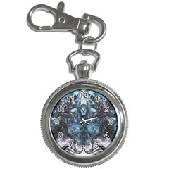 Angel Wings Blue Grunge Texture Key Chain Watches by CrypticFragmentsDesign
