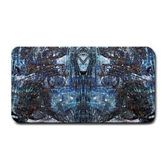 Angel Wings Blue Grunge Texture Medium Bar Mats by CrypticFragmentsDesign