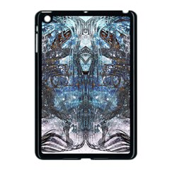 Angel Wings Blue Grunge Texture Apple Ipad Mini Case (black) by CrypticFragmentsDesign