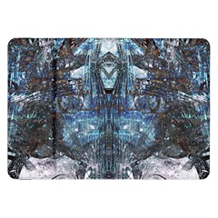 Angel Wings Blue Grunge Texture Samsung Galaxy Tab 8 9  P7300 Flip Case by CrypticFragmentsDesign