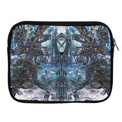 Angel Wings Blue Grunge Texture Apple Ipad 2/3/4 Zipper Cases by CrypticFragmentsDesign