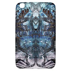Angel Wings Blue Grunge Texture Samsung Galaxy Tab 3 (8 ) T3100 Hardshell Case  by CrypticFragmentsDesign