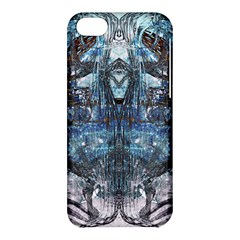 Angel Wings Blue Grunge Texture Apple Iphone 5c Hardshell Case by CrypticFragmentsDesign