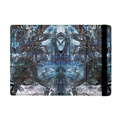 Angel Wings Blue Grunge Texture Ipad Mini 2 Flip Cases by CrypticFragmentsDesign