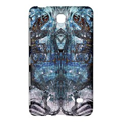 Angel Wings Blue Grunge Texture Samsung Galaxy Tab 4 (8 ) Hardshell Case  by CrypticFragmentsDesign