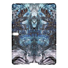 Angel Wings Blue Grunge Texture Samsung Galaxy Tab S (10 5 ) Hardshell Case  by CrypticFragmentsDesign