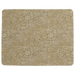 Old Floral Crochet Lace Pattern Beige Bleached Jigsaw Puzzle Photo Stand (rectangular) by EDDArt