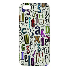 Colorful Retro Style Letters Numbers Stars Iphone 5s/ Se Premium Hardshell Case by EDDArt