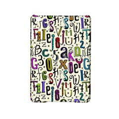 Colorful Retro Style Letters Numbers Stars Ipad Mini 2 Hardshell Cases by EDDArt