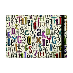 Colorful Retro Style Letters Numbers Stars Ipad Mini 2 Flip Cases by EDDArt