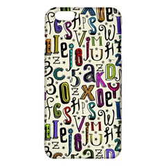 Colorful Retro Style Letters Numbers Stars Iphone 6 Plus/6s Plus Tpu Case by EDDArt