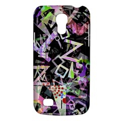 Chaos With Letters Black Multicolored Galaxy S4 Mini by EDDArt