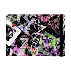 Chaos With Letters Black Multicolored Ipad Mini 2 Flip Cases by EDDArt