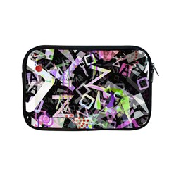 Chaos With Letters Black Multicolored Apple Macbook Pro 13  Zipper Case by EDDArt