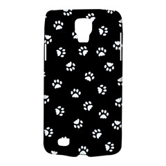Footprints Cat White Black Galaxy S4 Active by EDDArt