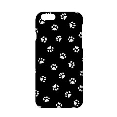 Footprints Cat White Black Apple Iphone 6/6s Hardshell Case
