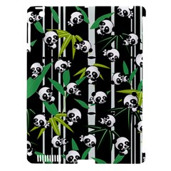 Satisfied And Happy Panda Babies On Bamboo Apple Ipad 3/4 Hardshell Case (compatible With Smart Cover) by EDDArt