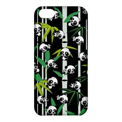 Satisfied And Happy Panda Babies On Bamboo Apple Iphone 5c Hardshell Case by EDDArt