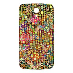 Multicolored Retro Spots Polka Dots Pattern Samsung Galaxy Mega I9200 Hardshell Back Case by EDDArt