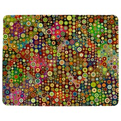 Multicolored Retro Spots Polka Dots Pattern Jigsaw Puzzle Photo Stand (rectangular) by EDDArt