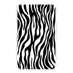 Zebra Stripes Pattern Traditional Colors Black White Memory Card Reader by EDDArt