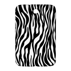 Zebra Stripes Pattern Traditional Colors Black White Samsung Galaxy Note 8 0 N5100 Hardshell Case  by EDDArt
