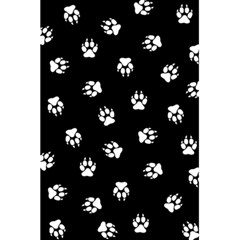 Footprints Dog White Black 5 5  X 8 5  Notebooks by EDDArt