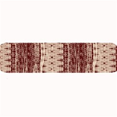 Wrinkly Batik Pattern Brown Beige Large Bar Mats by EDDArt