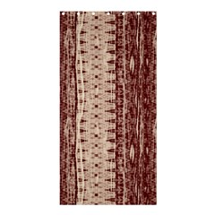 Wrinkly Batik Pattern Brown Beige Shower Curtain 36  X 72  (stall)  by EDDArt