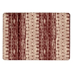 Wrinkly Batik Pattern Brown Beige Samsung Galaxy Tab 10 1  P7500 Flip Case by EDDArt